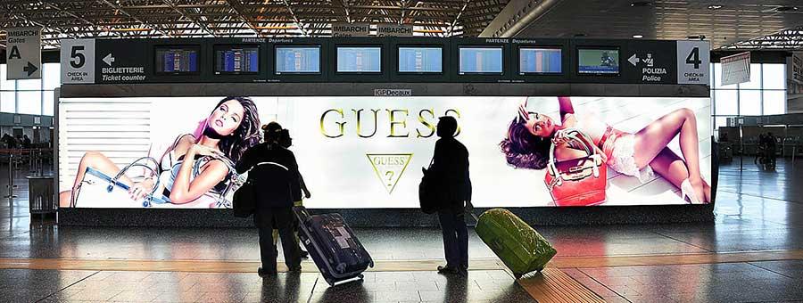 Размещение рекламы в аэропорте